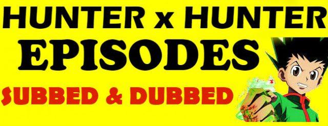 Hunter x Hunter Episodes